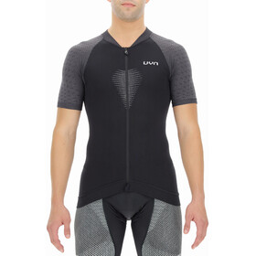 UYN Granfondo Kurzarm Biking Shirt Herren schwarz/grau